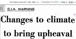 CIA global Cooling