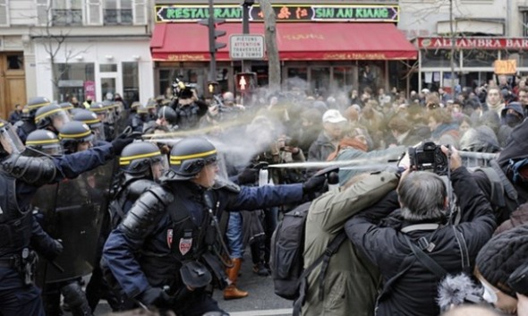 COP21 violence