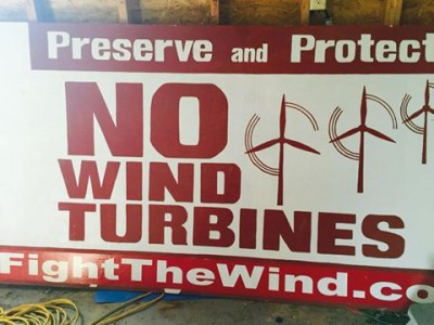 no wind turbines
