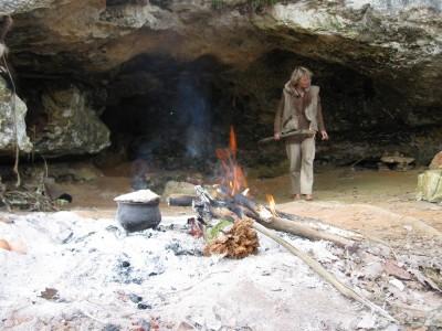 stone age cave dweller