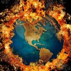 Global Warming burningplanet