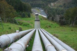 Hydro power in Tasmania [image credit: ABC Rural]