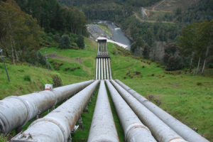 Hydro power in Tasmania [image credit: ABC Rural]