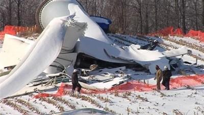 turbine collapse fenner NY