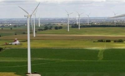 polish wind farm