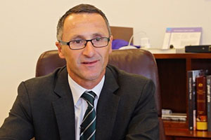 Australian Greens Party Leader Richard Di Natale