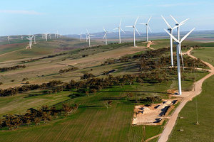 Clements Gap wind plant in South Australia