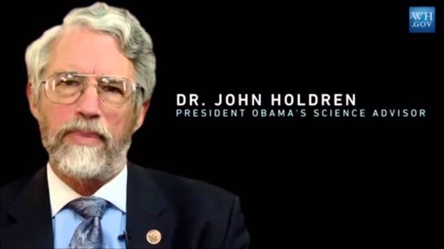 Holdren Obama Sicence Czar