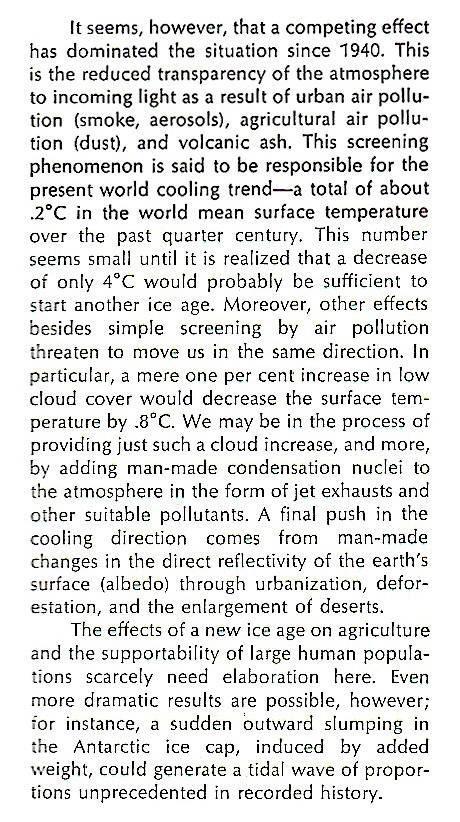 John Holdren Global Cooling Scare 2