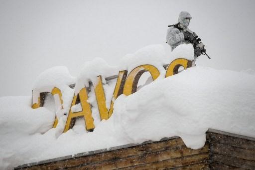 SWITZERLAND-DAVOS-POLITICS-ECONOMY-DIPLOMACY-SUMMIT