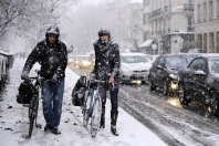 PARIS HEAVY SNOW