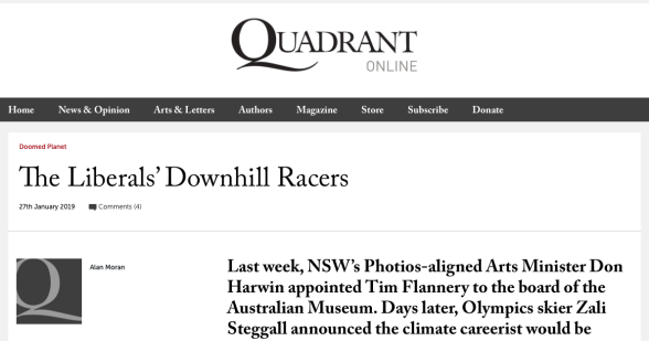 the liberals' downhill racers - quadrant online