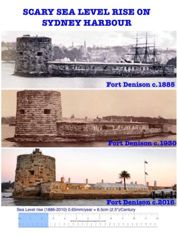 Fort Denison SYD SLR