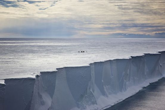 Ross Ice Shelf - ANTARCTICA (popular mechanics)