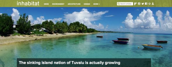 The sinking island nation of Tuvalu is actually growing | Inhabitat - Green Design, Innovation, Architecture, Green Building