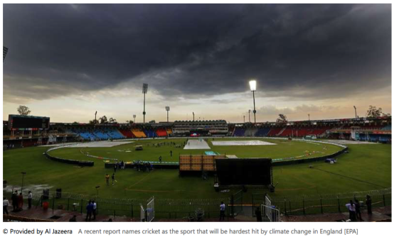UK - What impact is climate change having on cricket? | Al Jazeera