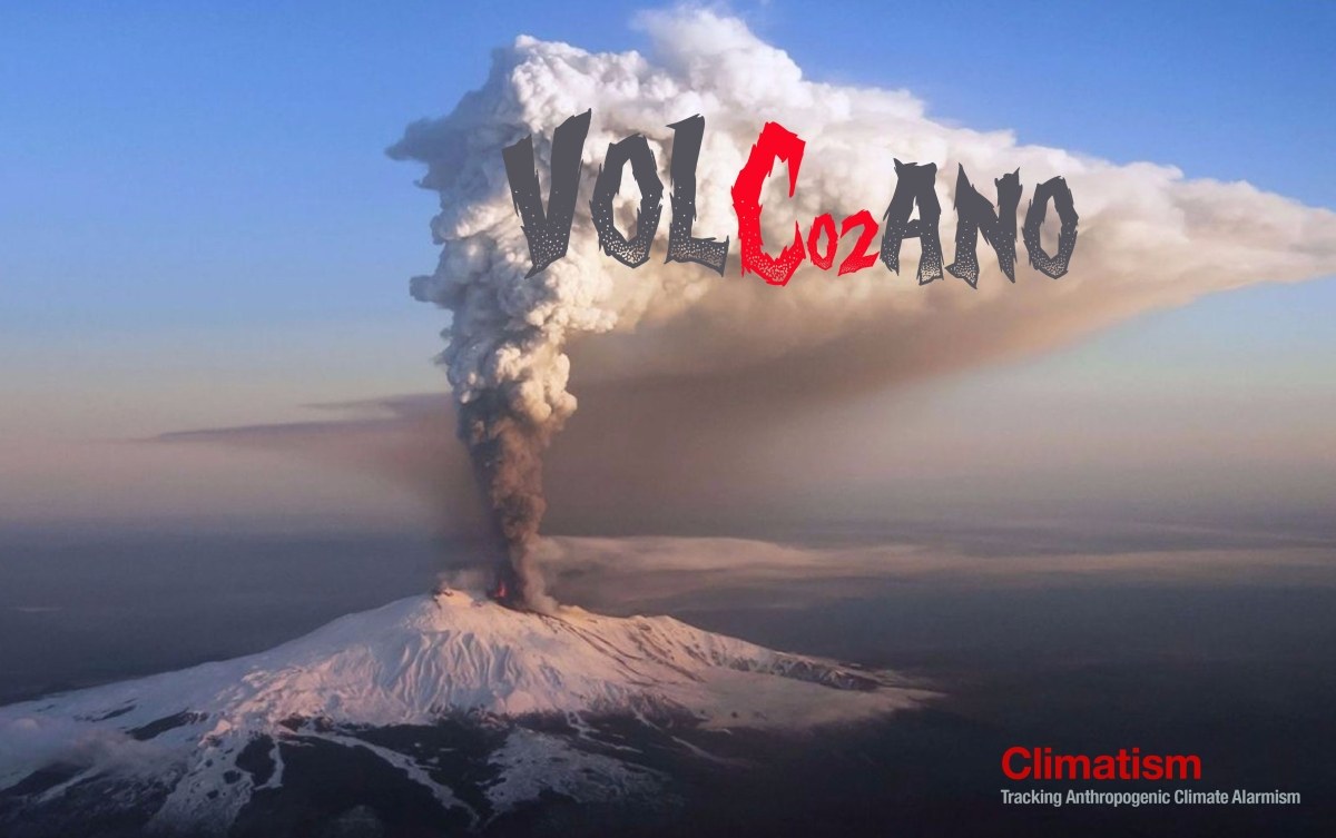 Global Warming Causes Volcanic Eruption: 2010