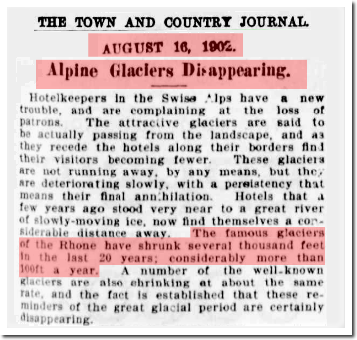 16 Aug 1902 – Alpine Glaciers Disappearing. – Trove