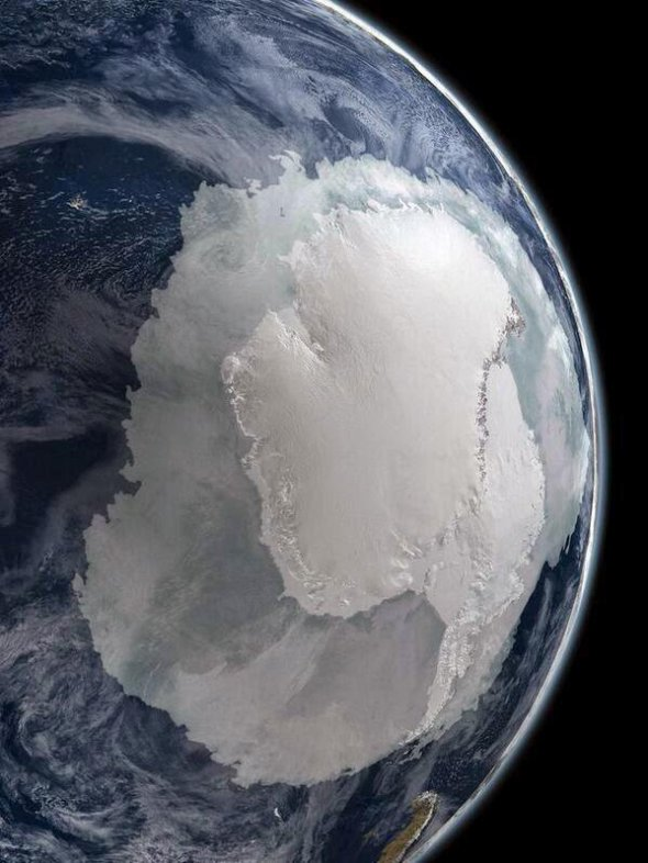 Antarctica satellite 2018