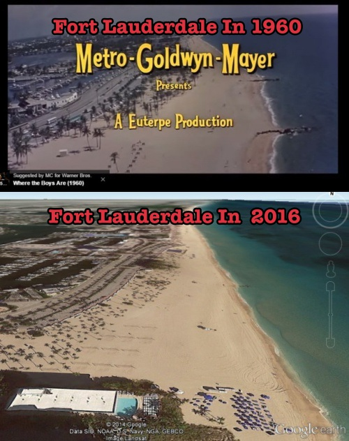 Florida beaches haven_t changed in 58 years. CLIMATISM