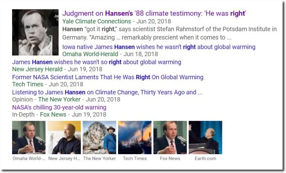 Hansen Testimony
