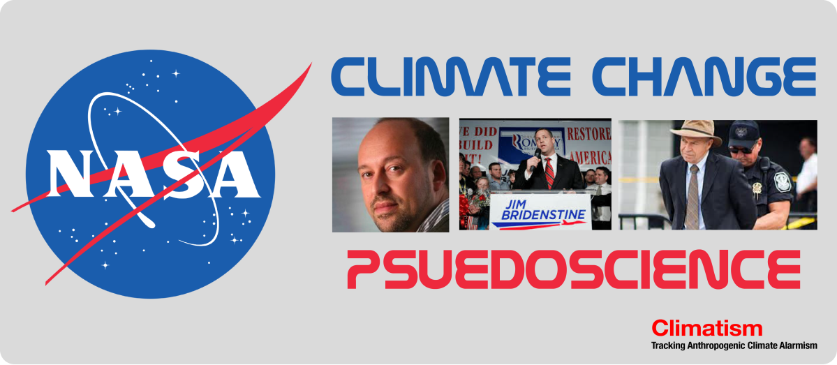 THE Orwellian Era Of @NASA Climate Pseudoscience