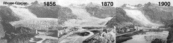 Rhone Glacier Timeline - CLIMATISM