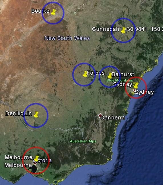 UHI - Climatism - Sydney - Melbourne