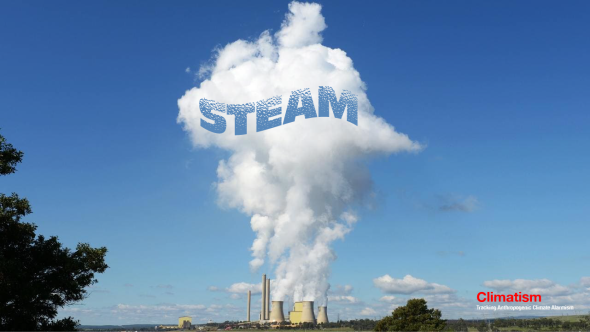 Coal-fired power STEAM - Loy Yang VIC - ABBOTT - CLIMATISM