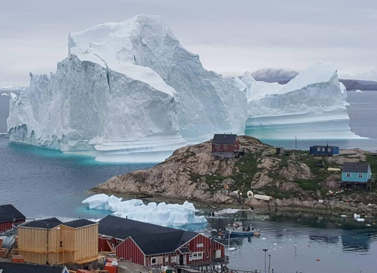 Innaarsuit GREENLAND ICEBERG - Climatism