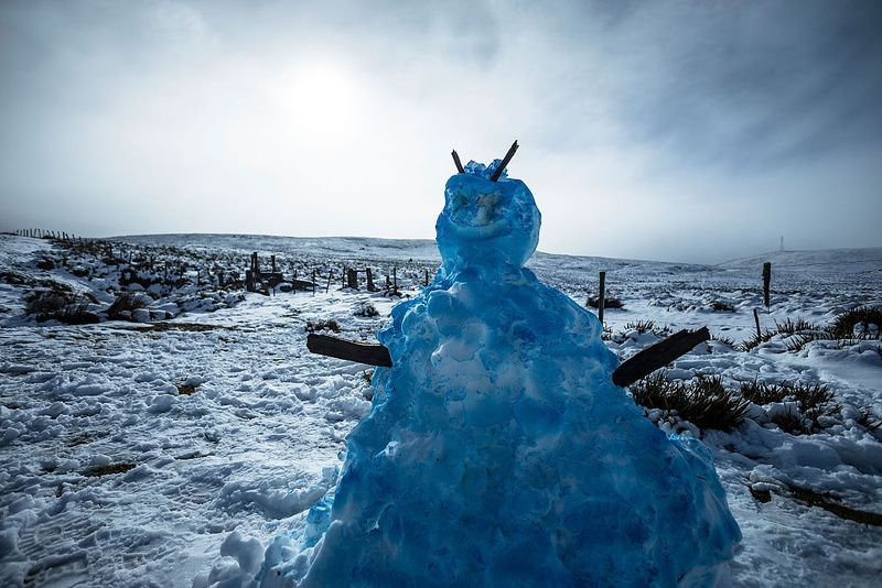 The cold fronts are expected to continue through the weekend, meaning more snow could be on the way. Picture- Getty. CIMATISM