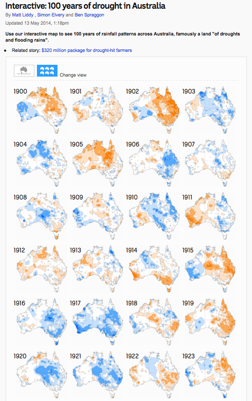 Interactive - 100 years of drought in Australia - ABC News (Australian Broadcasting Corporation)