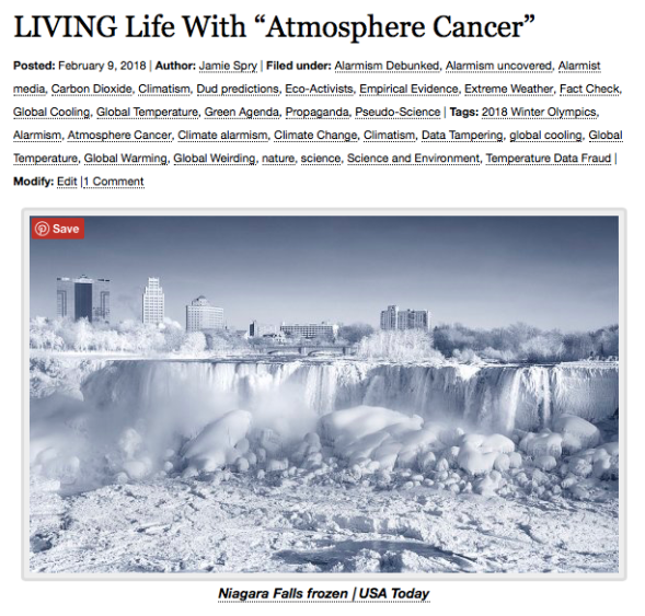 "LIVING Life With ""Atmosphere Cancer"" 