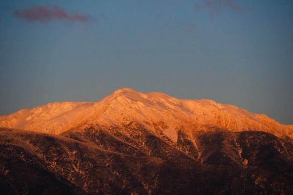 PHOTO- The majestic Mt Bogong in the Victorian high country is one of the areas enjoying great snow.