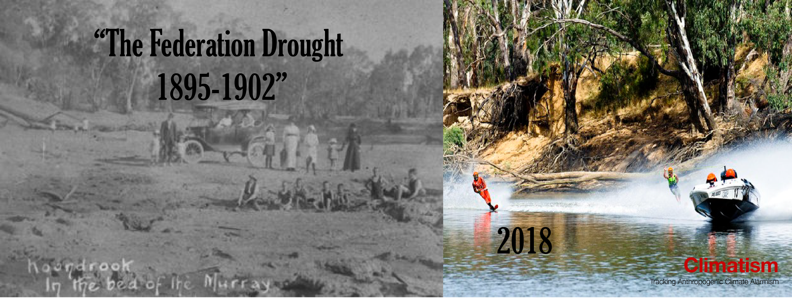 THE Federation Drought - Open Letter To BoM - CLIMATISM