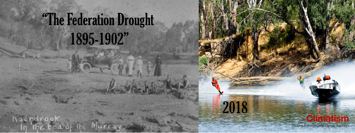 "OPEN Letter To The Bureau Of Meteorology : Climate Extremes - The ""Federation Drought"" 1895-1902"