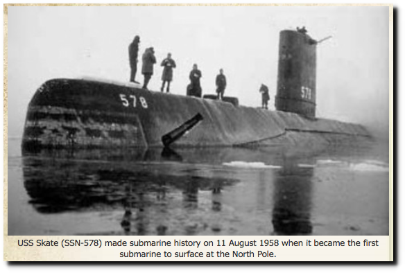 USS Skate 1958