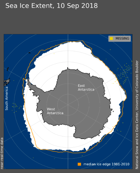 Arctic Sea Ice News and Analysis | Sea ice data updated daily with one-day lag (Amtarctic)