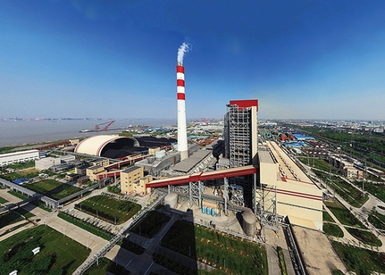 The ultra-supercritical Shanghai Waigaoqiao No. 3 is one of China_s flagship high-efficiency, low-emissions coal-fired power plants.