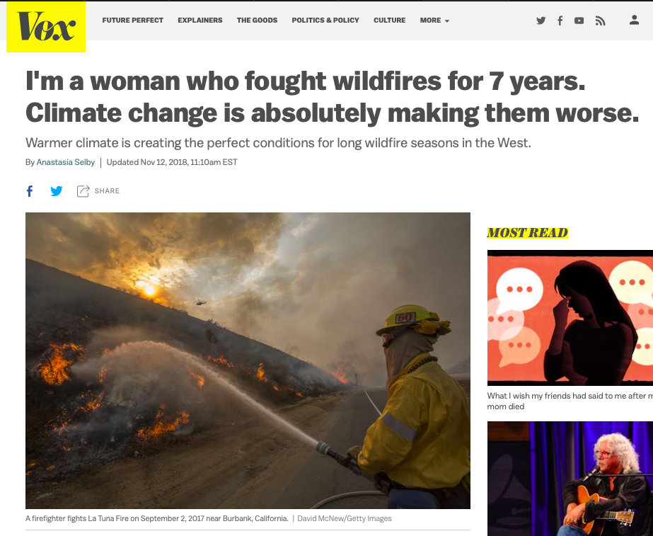 California wildfires 2018 - Climate change is making wildfires worse - Vox