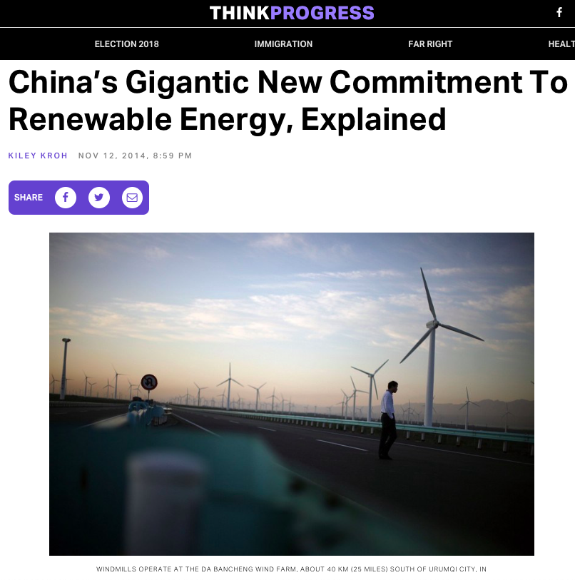 China_s Gigantic New Commitment To Renewable Energy, Explained – ThinkProgress