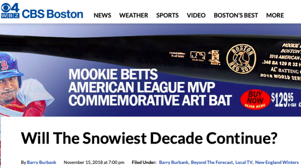 Will The Snowiest Decade Continue? « CBS Boston