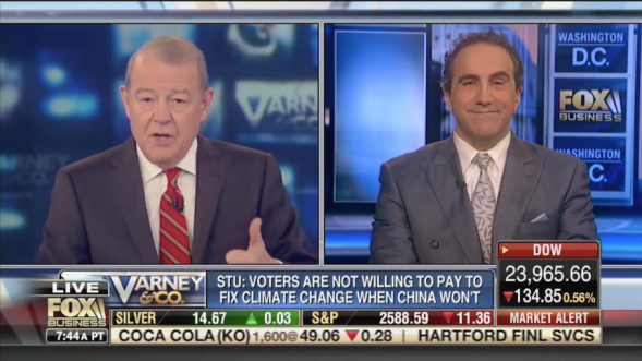 Watch - Morano on Fox News - France climate rebellion spreading – 'Global warming_ fears are a tool for 'political and economic_ change…it has nothing to do with the actual c