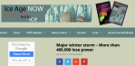 Major winter storm – More than 400,000 lose power – Ice AgeNow