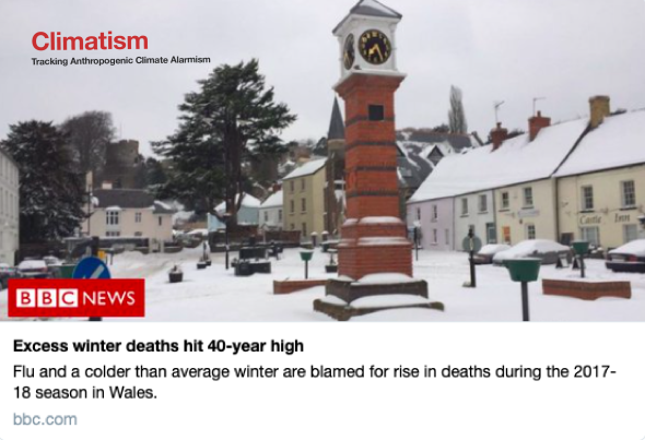 EXCESS WINTER DEATHS - CLIMATISM