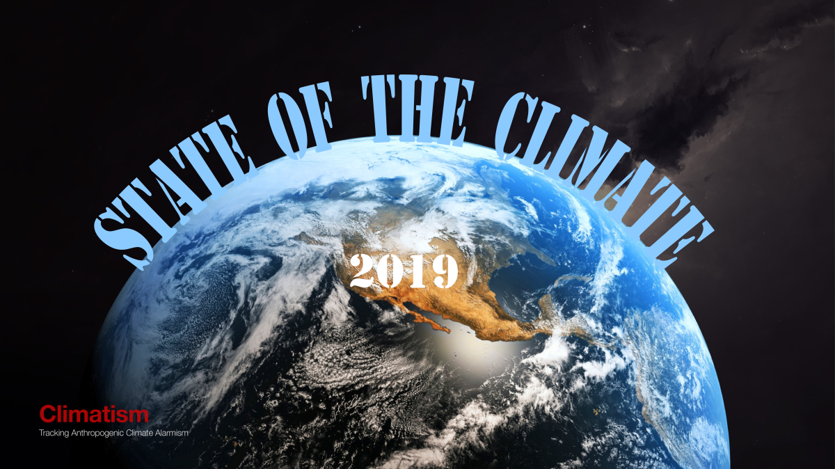 CLIMATISM : 2019 State Of The Climate Report