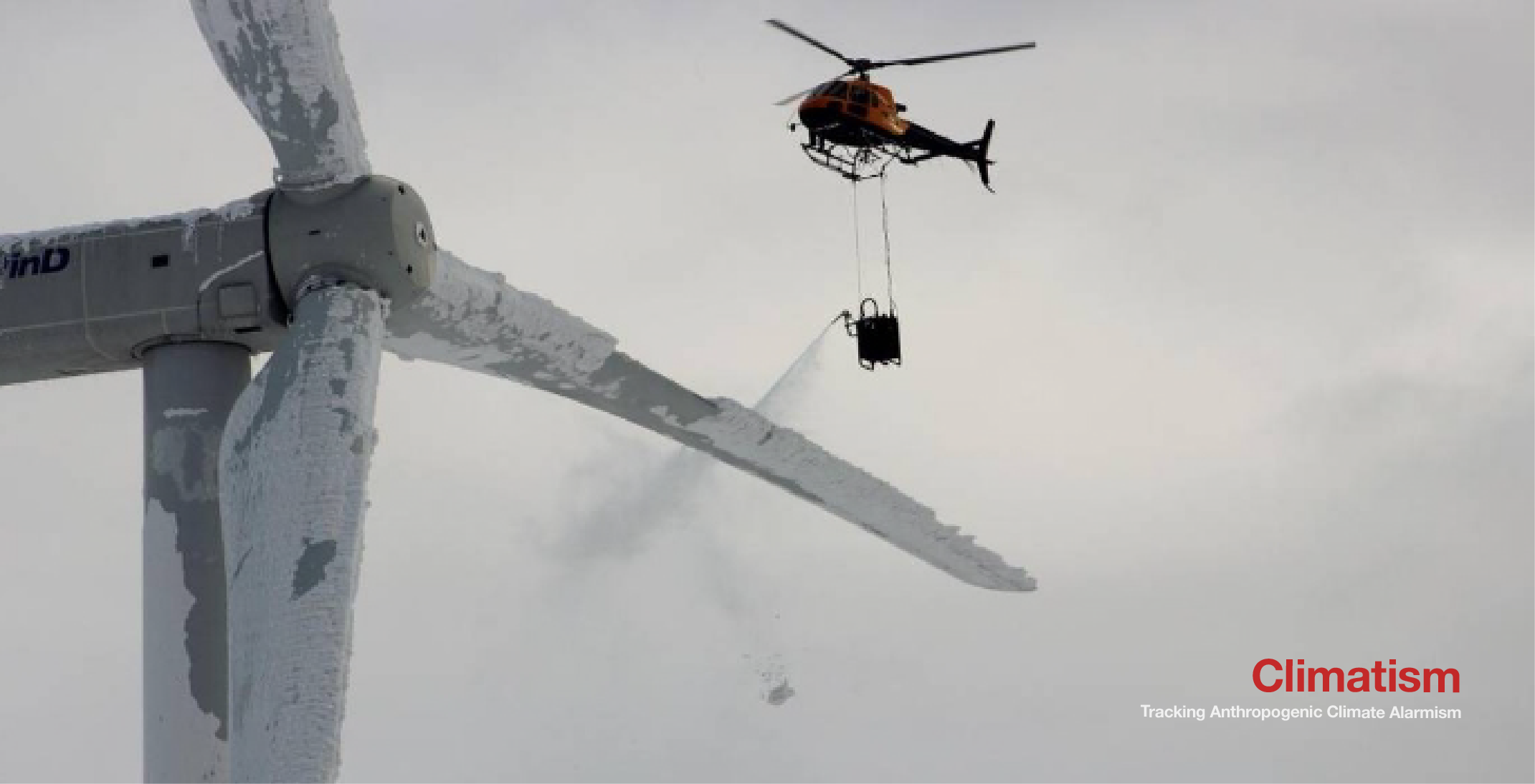 green jobs - helicopter de-icing - climatism