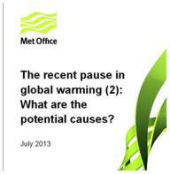 Met Office UK - The Pause