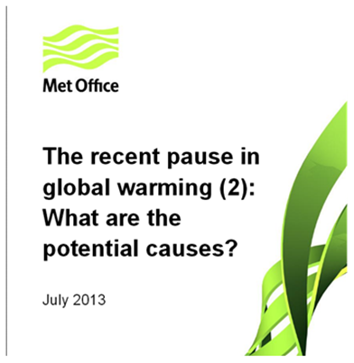 Met Office UK - The Pause