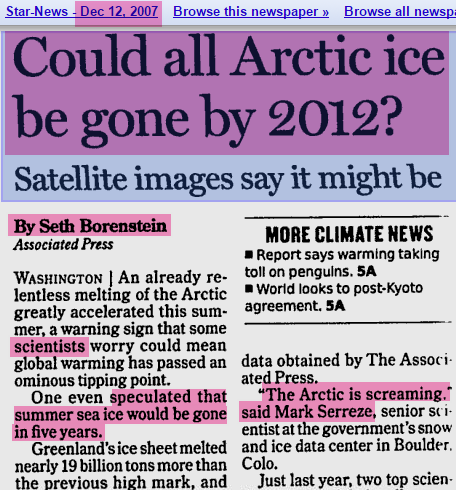 "nsidc director mark serreze – ""the arctic is screaming""-"